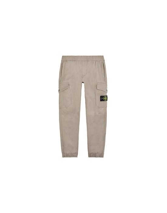 STONE ISLAND JUNIOR 30612 Trousers Man Mud