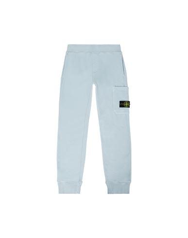 STONE ISLAND JUNIOR Fleece Pants Man 61540 f