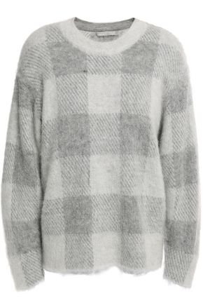 VINCE. Brushed knitted sweater