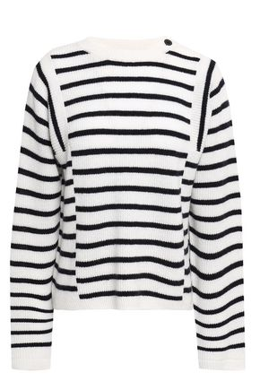 VINCE. Ribbed wool and cashmere sweater