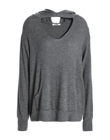 Фото - Женский свитер LNA свинцово-серого цвета