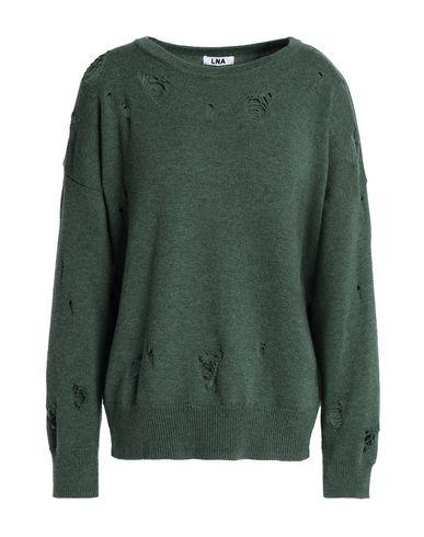 Фото - Женский свитер LNA зеленого цвета