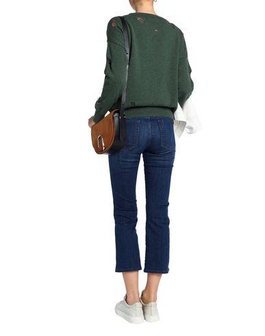 Фото 2 - Женский свитер LNA зеленого цвета