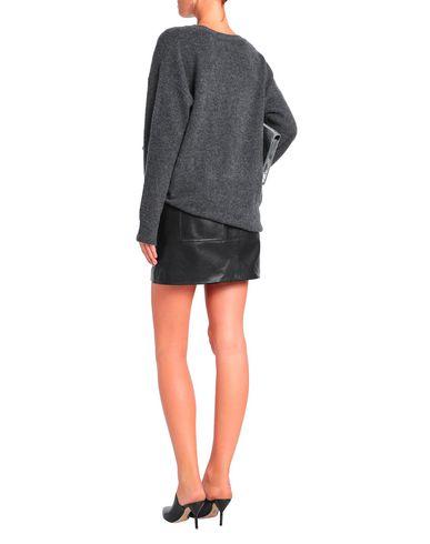 Фото 2 - Женский свитер  свинцово-серого цвета