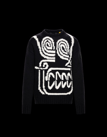 CREWNECK Black Knitwear & Sweatshirts