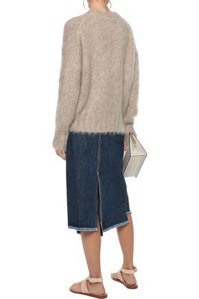 HELMUT LANG Mohair-blend sweater