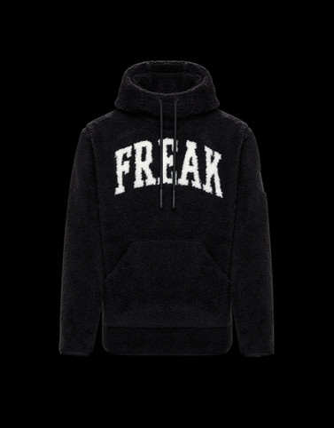 SWEATSHIRT Black Sweatshirts Man