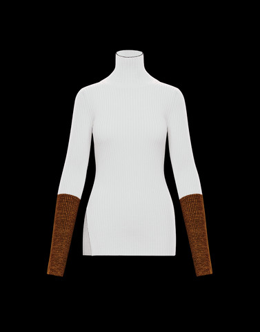 HIGH NECK White Knitwear