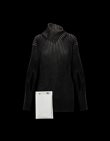 HIGH NECK Black 2 Moncler 1952 Valextra Woman