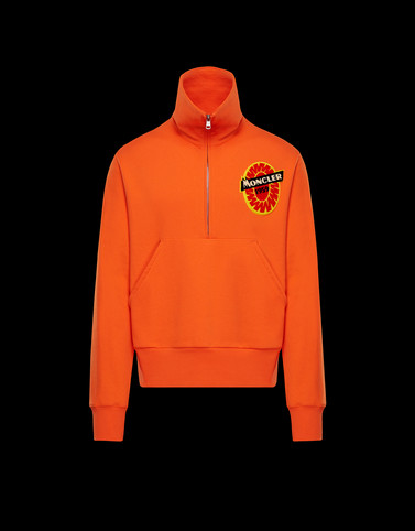 SWEATSHIRT Orange Category Sweatshirts Man