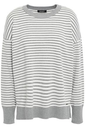 DKNY Striped knitted sweater
