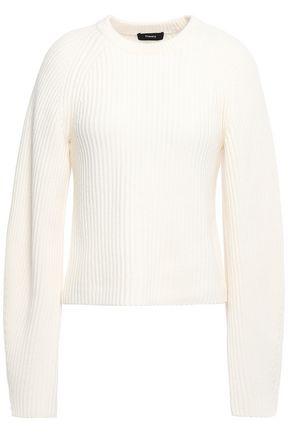 THEORY Ribbed merino wool sweater