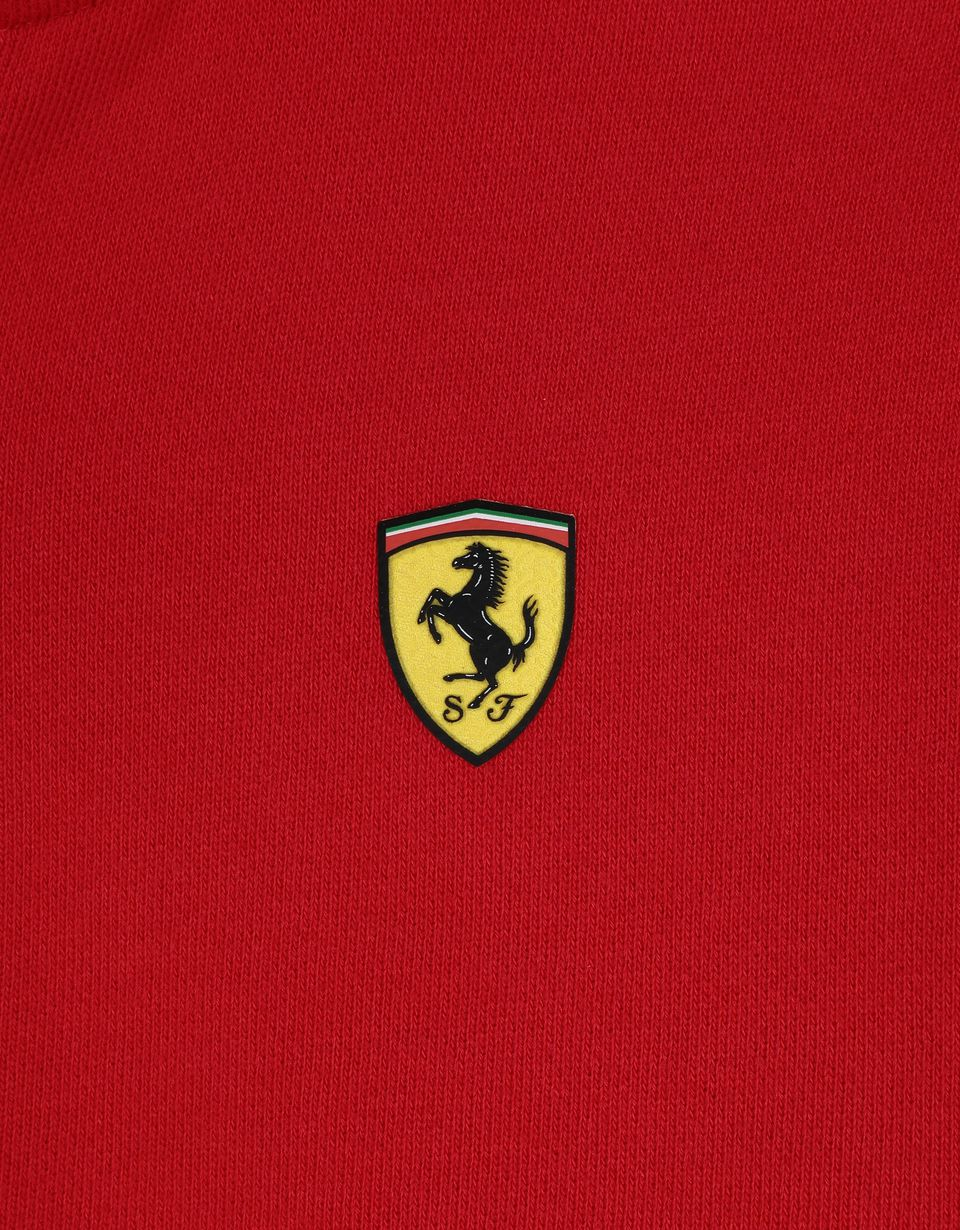 Scuderia Ferrari Online Store - Girls' full zip cotton jumper - Zip Jumpers