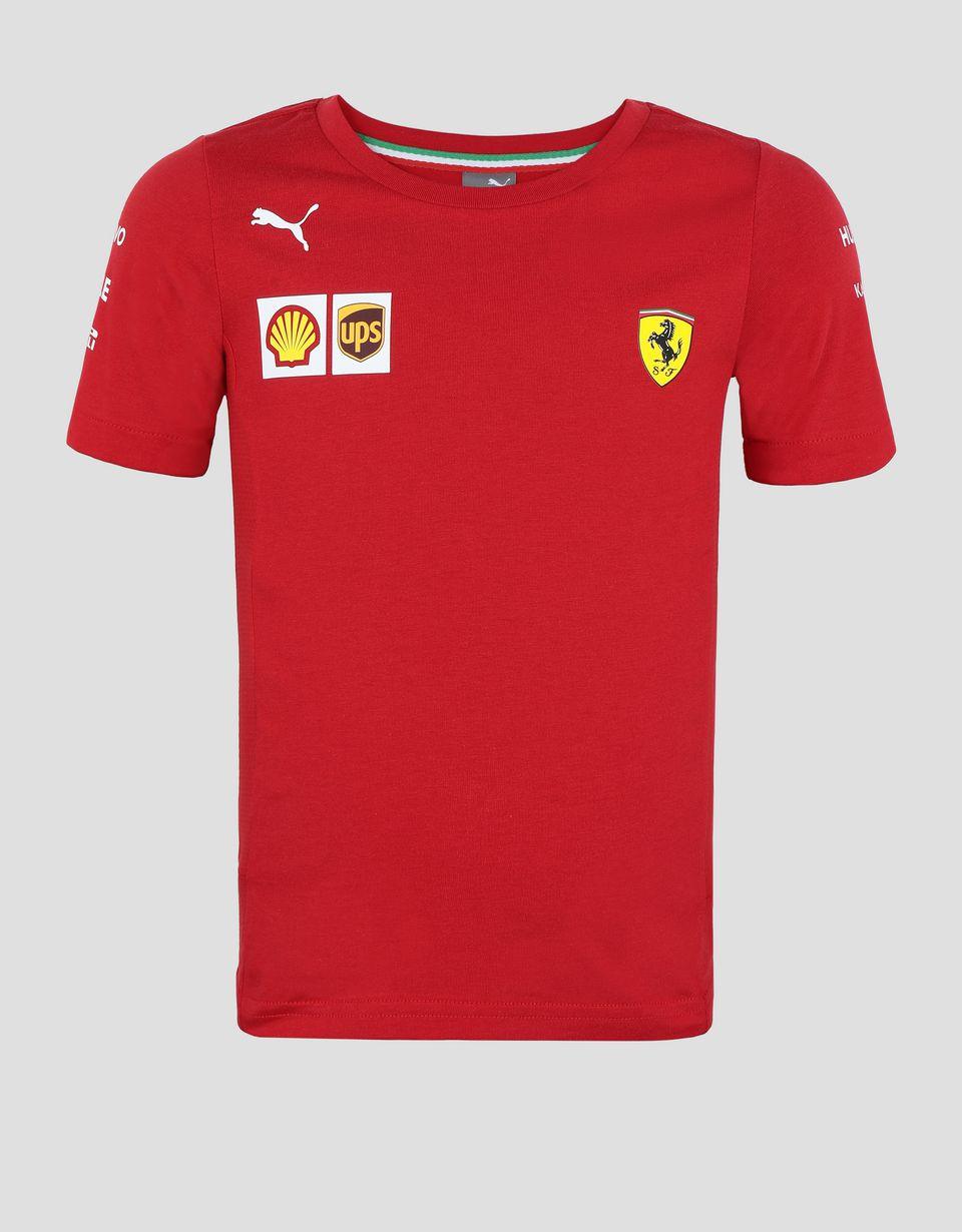 Scuderia Ferrari Online Store - T-shirt Scuderia Ferrari Replica junior 2019 - T-shirts à manches courtes