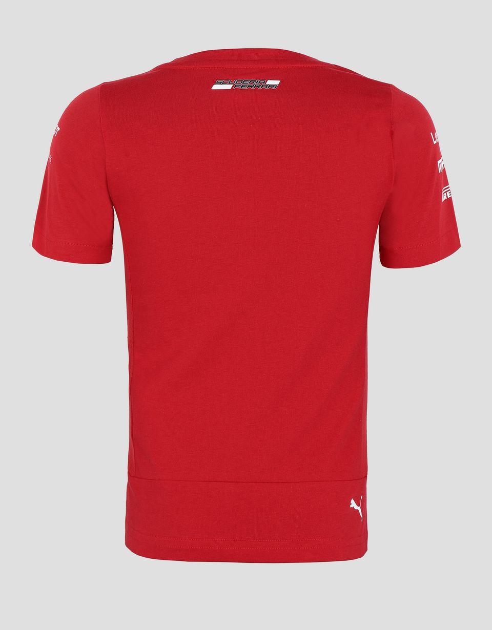 Scuderia Ferrari Online Store - Scuderia Ferrari 2019 Replica kids t-shirt - Short Sleeve T-Shirts