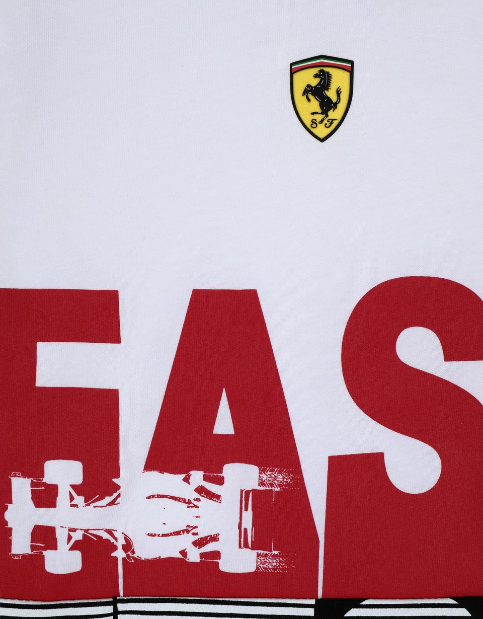 Scuderia Ferrari Online Store - Kids' cotton jersey T-shirt with FAST print -
