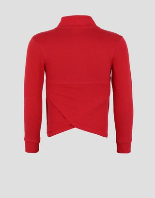 Scuderia Ferrari Online Store - Girls' cotton full zipper sweatshirt - Zip Sweaters