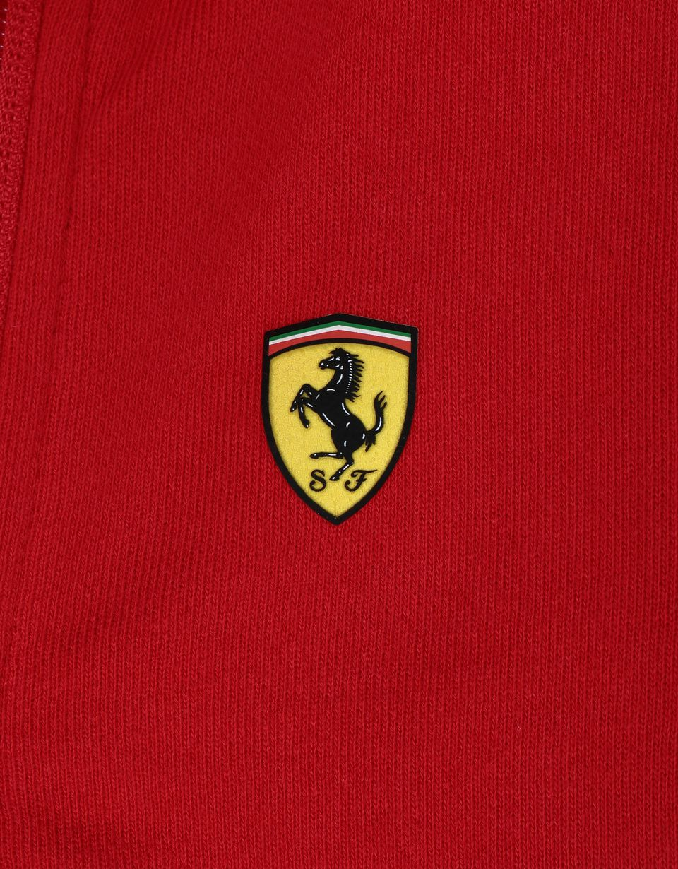 Scuderia Ferrari Online Store - Girls' cotton full zipper sweatshirt -