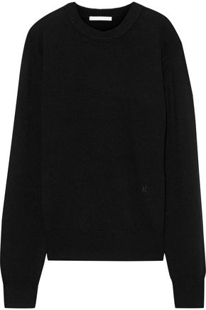 HELMUT LANG Ring-detailed cashmere sweater