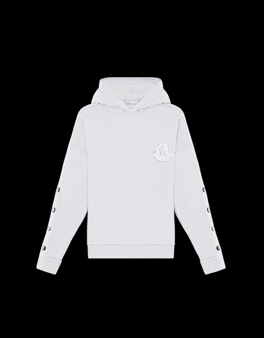 SWEATSHIRT Ivory Category HOODED SWEATSHIRTS Woman