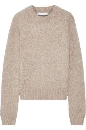 HELMUT LANG Brushed mélange knitted sweater