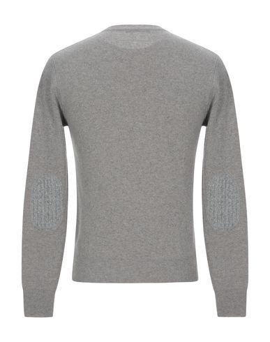 Фото 2 - Мужской свитер BECOME светло-серого цвета