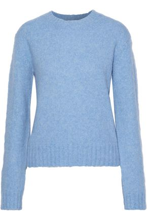 HELMUT LANG Brushed mélange knitted sweater