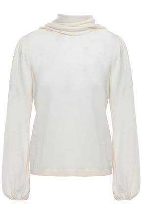 GIAMBATTISTA VALLI Draped wooll sweater