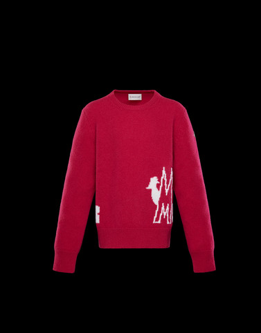 CREWNECK Fuchsia Junior 8-10 Years - Girl Woman