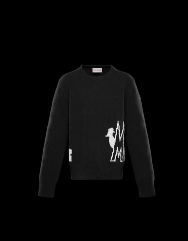 CREWNECK Black Category Crewnecks Woman