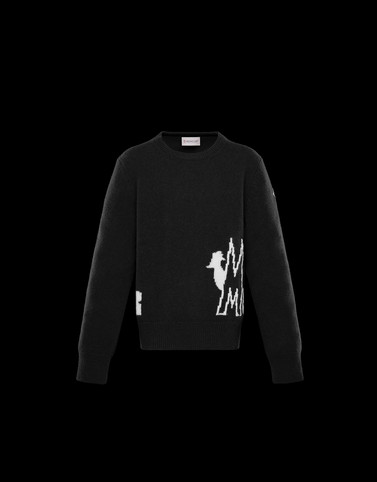 CREWNECK Black Kids 4-6 Years - Boy