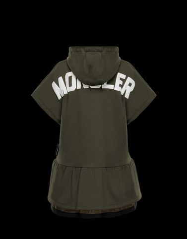 CARDIGAN Military green T-shirts & Tops Woman
