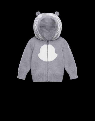 CARDIGAN Light grey Baby 0-36 months - Boy