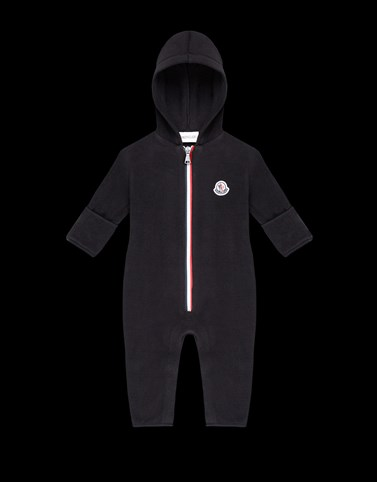 ROMPERS Black Baby 0-36 months - Boy Woman