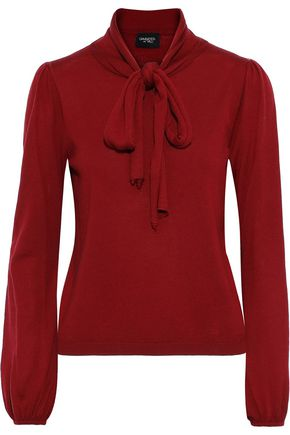 GIAMBATTISTA VALLI Pussy-bow wool sweater