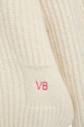 VICTORIA BECKHAM Ribbed alpaca-blend sweater