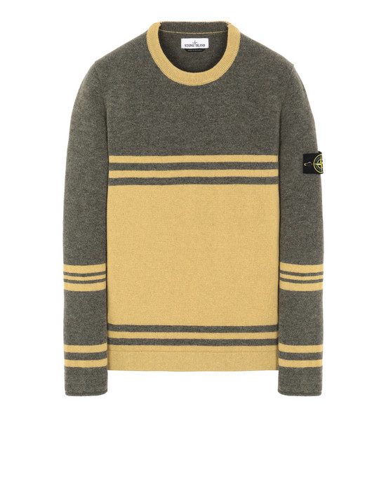 STONE ISLAND 545B2  Sweater Man Olive Green
