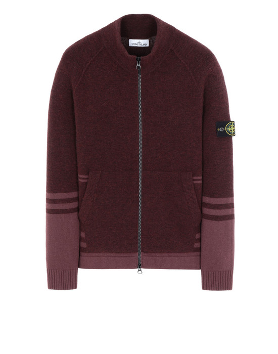STONE ISLAND 546B2 Sweater Man Dark Burgundy