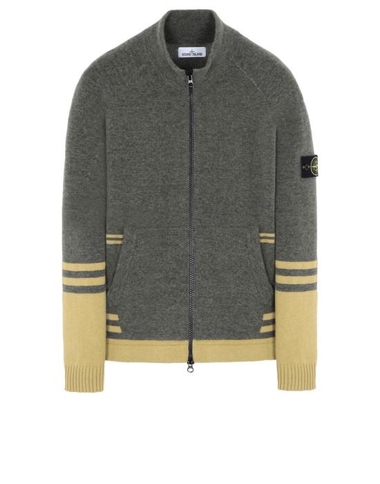 STONE ISLAND 546B2 Sweater Man Olive Green