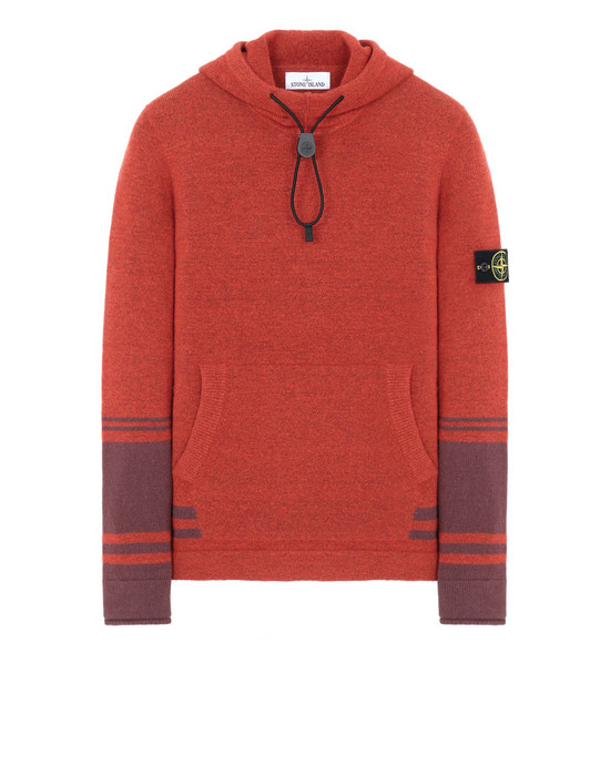 STONE ISLAND 547B2  Sweater Man Orange