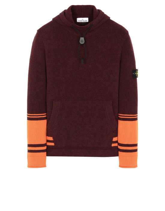 STONE ISLAND 547B2  Sweater Man Dark Burgundy