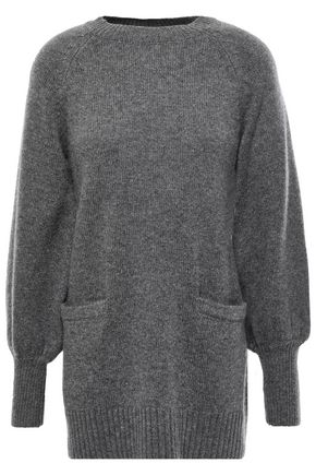 CO Mélange wool and cashmere-blend sweater