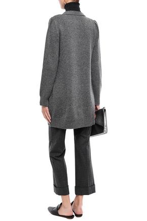 CO Mélange wool and cashmere-blend cardigan