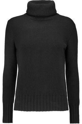 N.PEAL Mélange cashmere turtleneck sweater