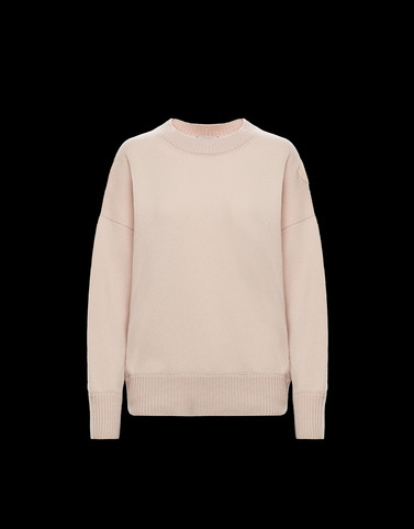 CREWNECK Light pink Category Crewnecks Woman