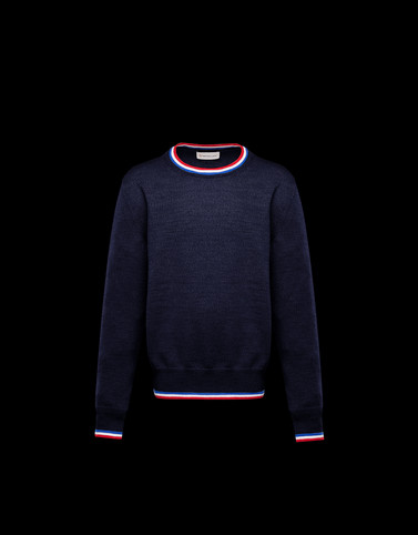 CREWNECK Dark blue Junior 8-10 Years - Boy