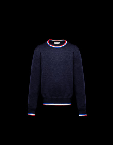 CREWNECK Dark blue Kids 4-6 Years - Boy