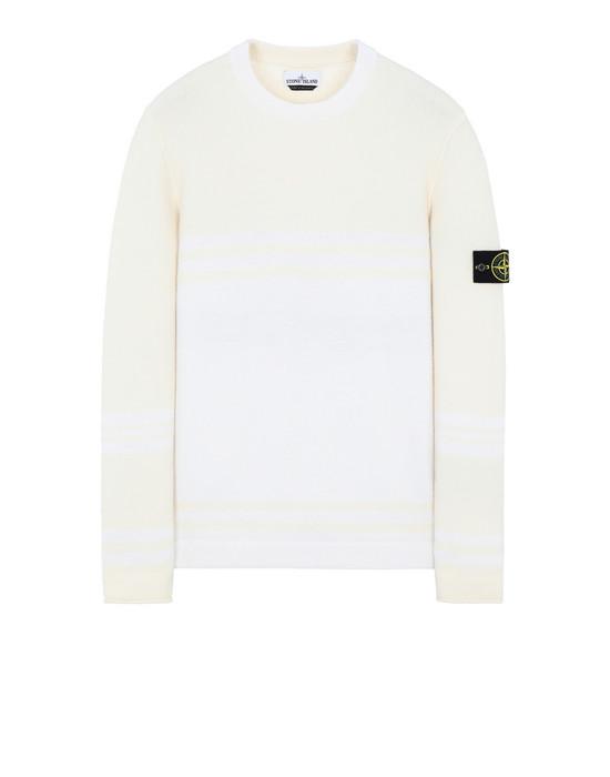 STONE ISLAND 545B2 Sweater Man Ivory