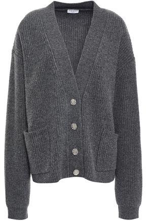 CLAUDIE PIERLOT Ribbed wool-blend cardigan