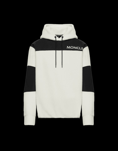SWEATSHIRT Ivory Category HOODED SWEATSHIRTS Man